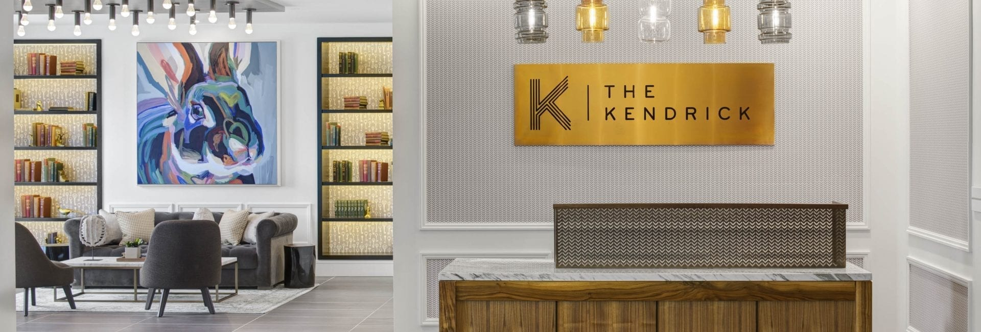 Concierge Desk at The Kendrick
