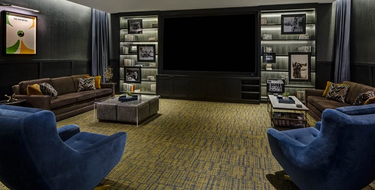 Theater Room at The Kendrick